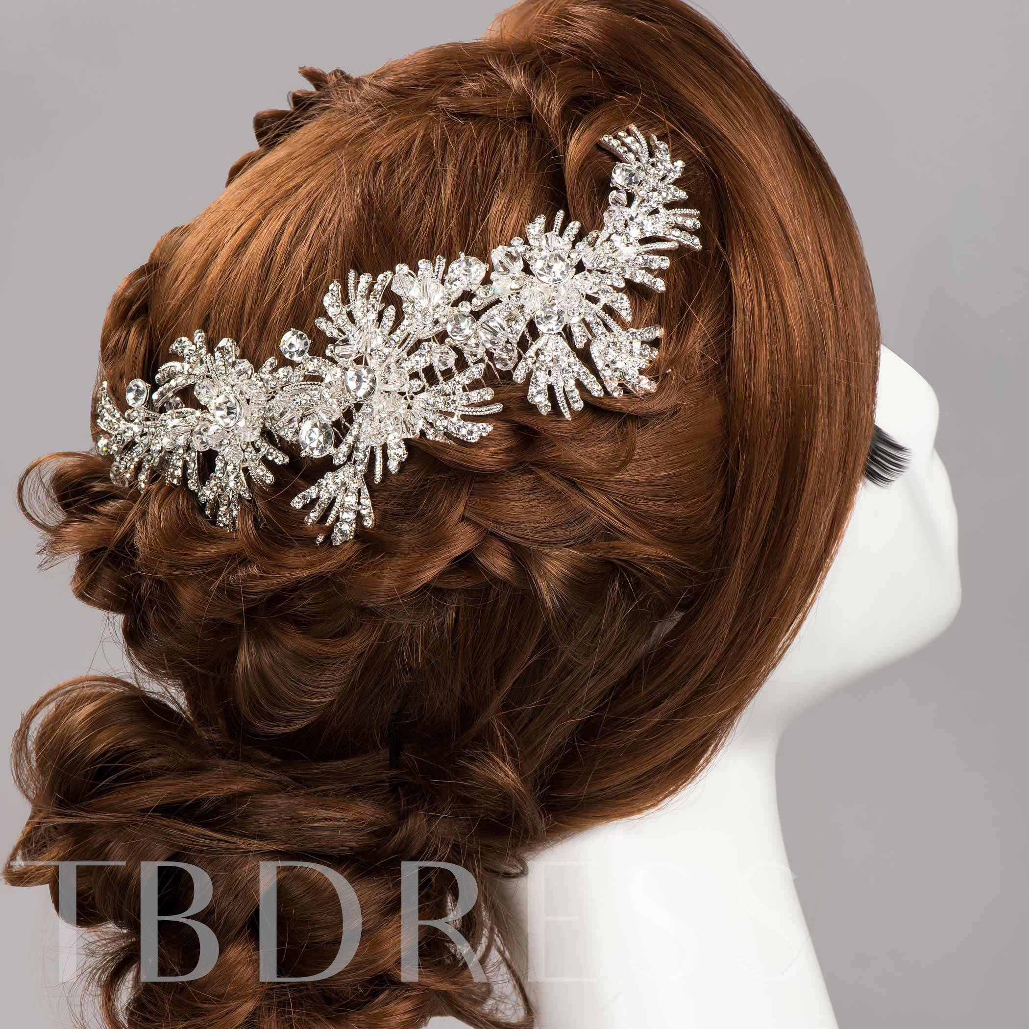 Rhinestone Bridal Comb/Hair Flower