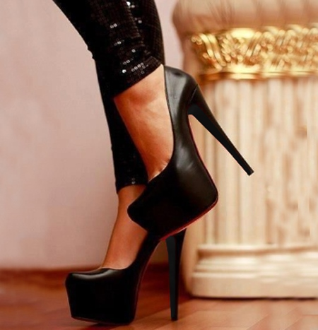 High Platform Stiletto Heel Women's Formal Heels