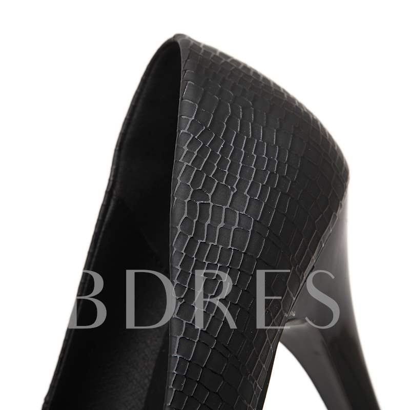 High Heel Platform Women's Pumps