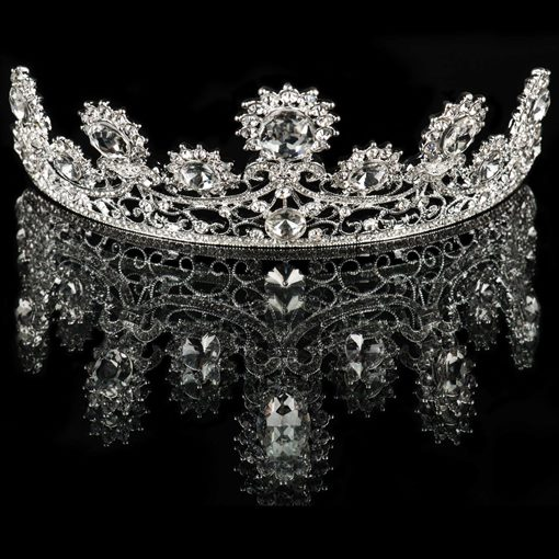 New Alloy with Rhinestone Bridal Wedding Tiara