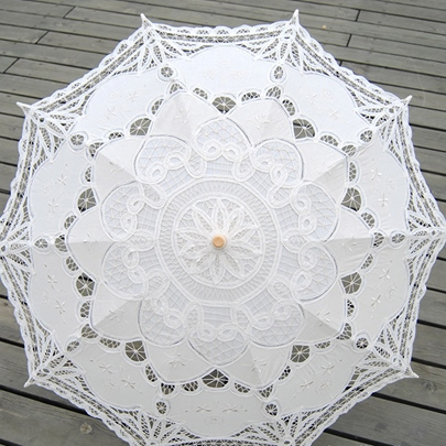 Lace Pattern Bridal Wedding Sunshade