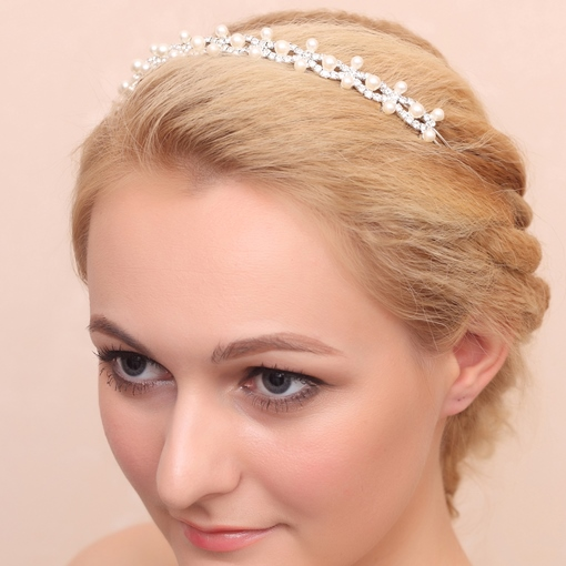 Pearls Wedding Headband