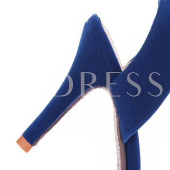 Ankle Strap Pointed Toe Women's Pumps
