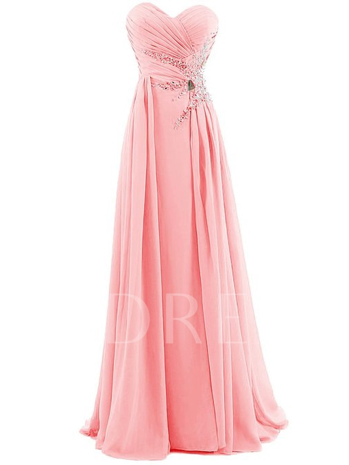 Sweetheart Beadings A-Line Prom Dress