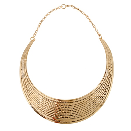 Crescent Women's Wide Necklace