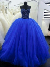 Sweetheart Beading Ball Gown Quinceanera Dress