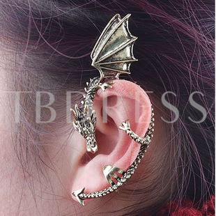U Shaped Dragon Women's Ear Cuff(Price for One Piece)