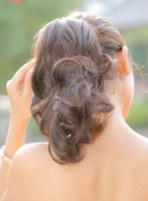 Mid-Length Wavy Synthetic Hair Clip In Ponytail For Women