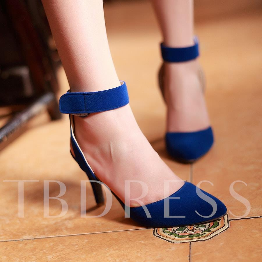 Pointed Toe Ankle Strap Women's Sandals