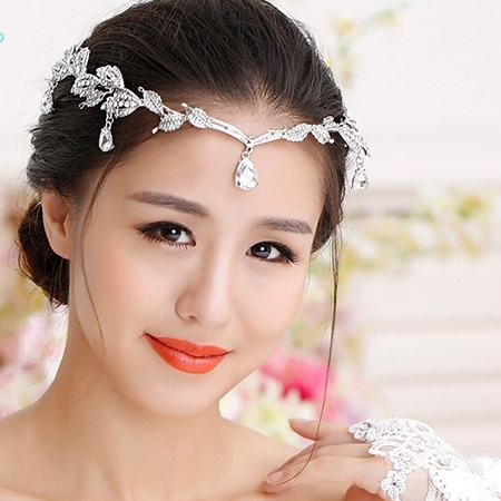 Strips Alloy and Rhinestone Wedding Tiara & Headpieces