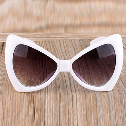 Fashion Bow Tie Shape Big Sunglasses