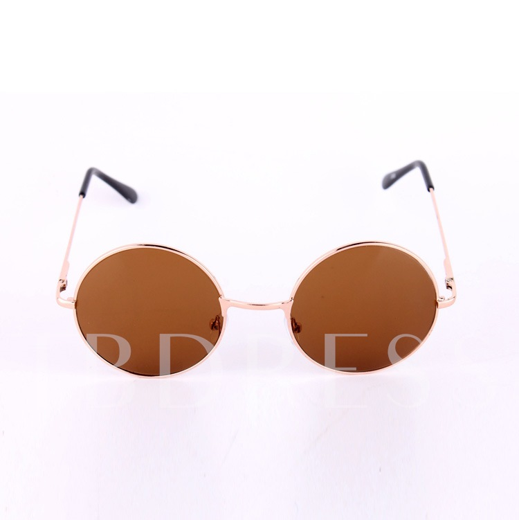 Circular Color Mirror Sunglasses