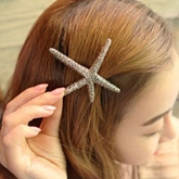 Retro Star Shaped Metal Hairpin