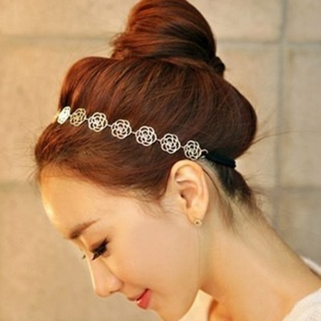 Korean Flower Head Hoop
