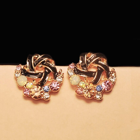 Lovely and Sweet Flower Earrings