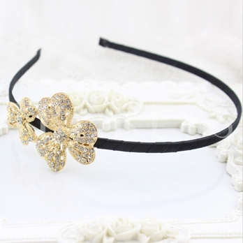 Three Petals Thin Headband