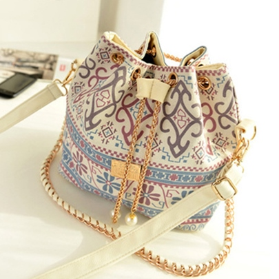 Vintage Chain Women's Shoulder Bag