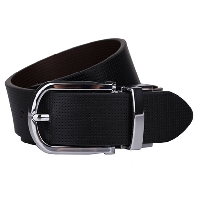 Black and White Double Color Optional Men's Belt