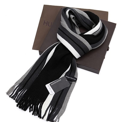 Fashion Men's Striped Scarf