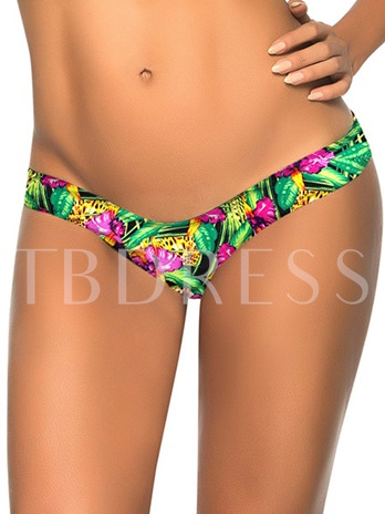 Floral Print Cotton Women's Panty (Plus Size Available)
