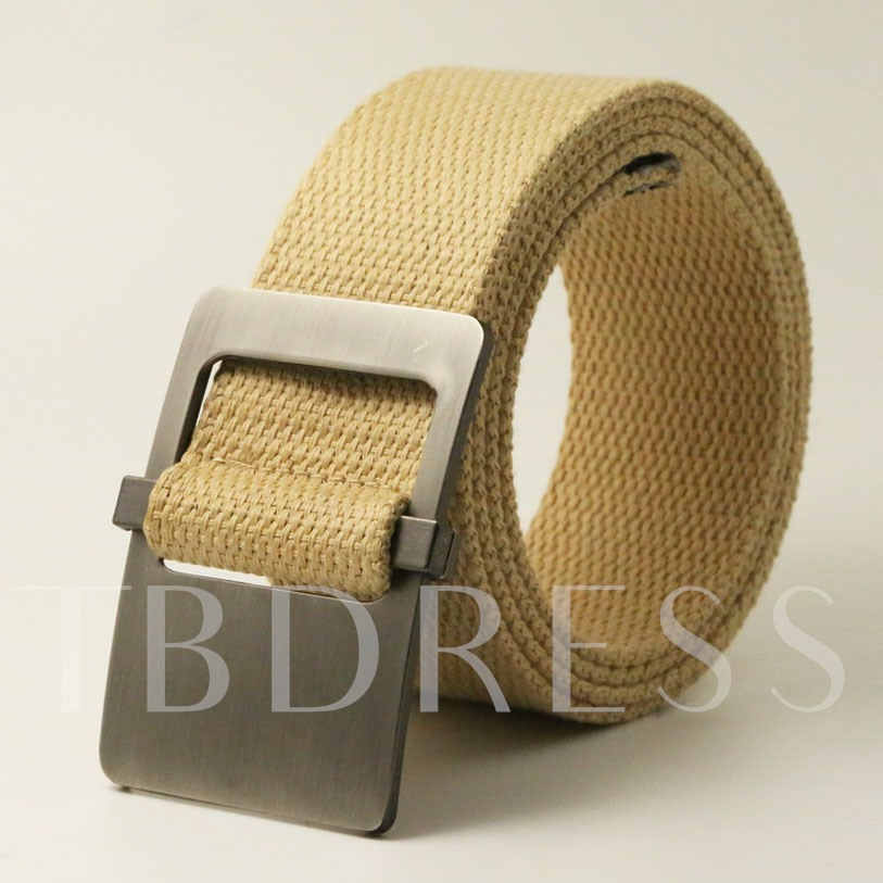 Multicolor Optional Men's Leisure Belt