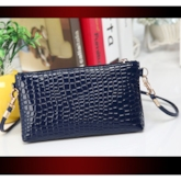 Simple PU Women Messenger Cross Body Bag
