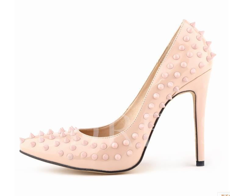Plus Size Stiletto Heel Pointed Toe Women's Pumps