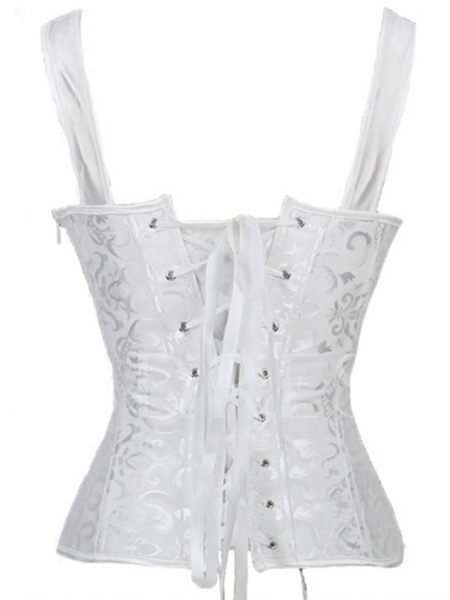 Women's Lace Up Front and Back Corset