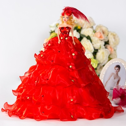 Romantic Wedding Barbie Doll Princess Gift