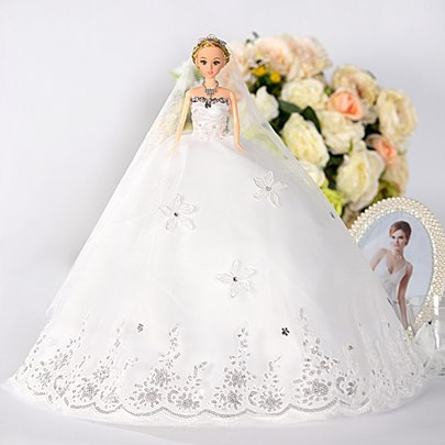 Flowers Wedding Barbie Doll Accessory