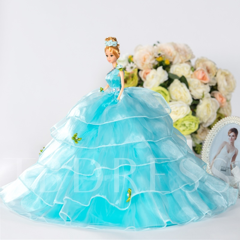 Bridal Ball Gown Toy Gift Wedding Barbie Doll