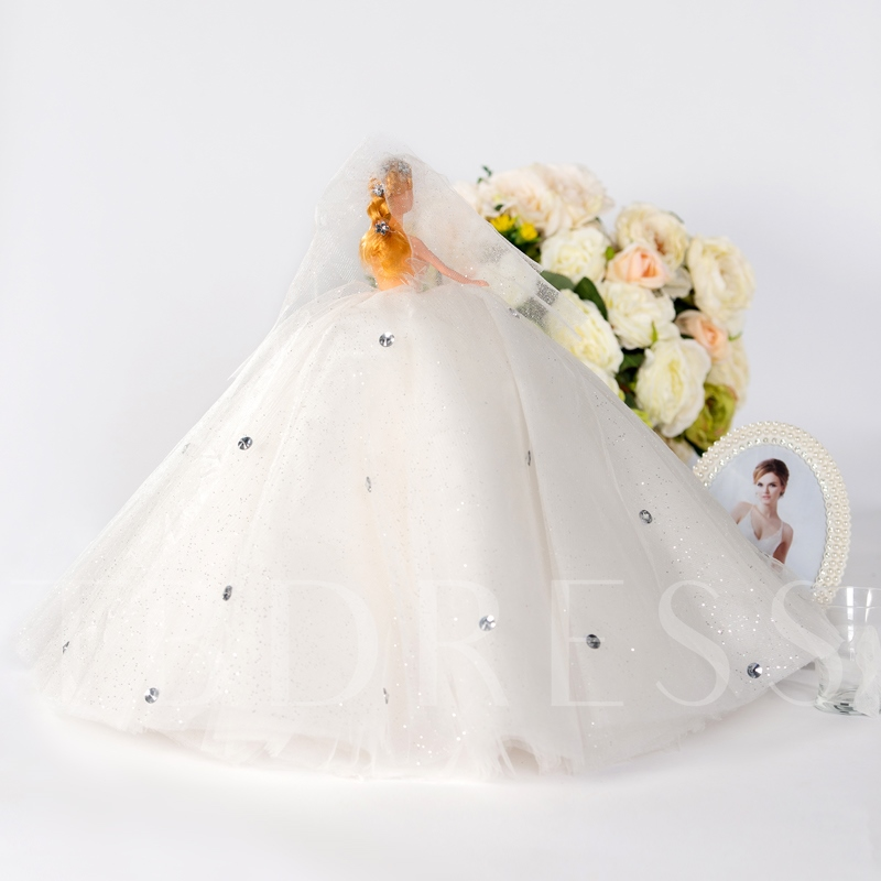 Wedding Day Accessories Bridal Barbie Dolls
