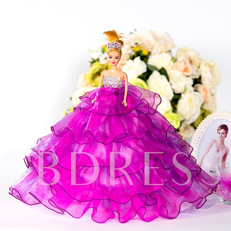 Wedding Reception Gift Bridal Barbie Doll