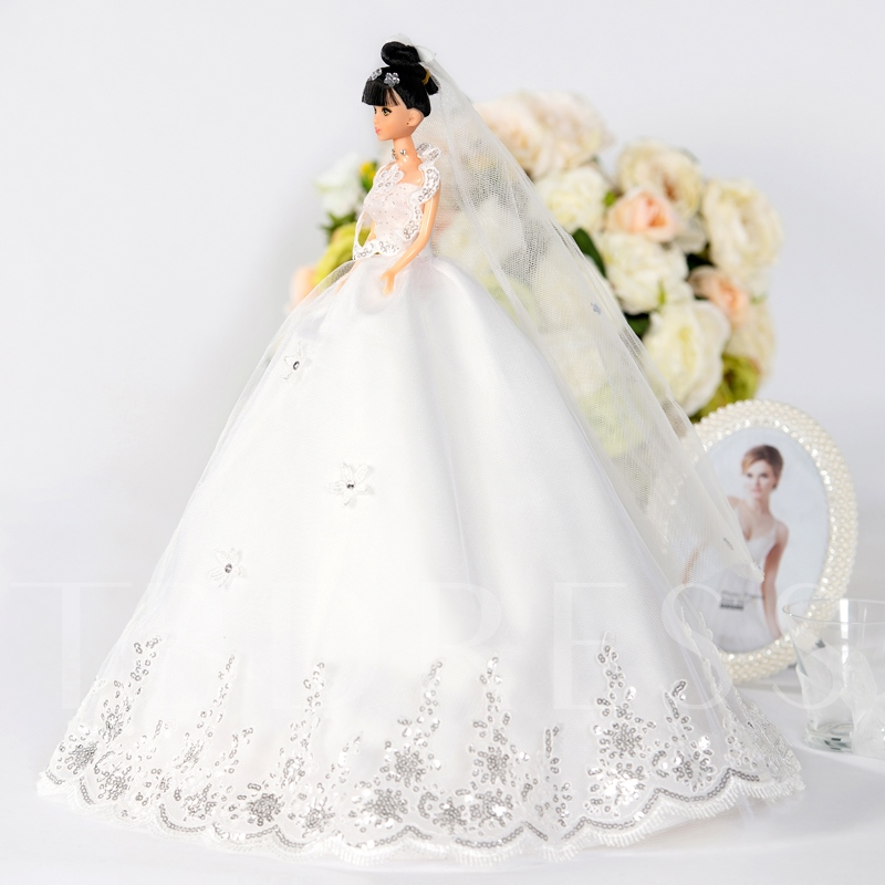 Wedding Ceremony Barbie Doll Adorable Girl Toy