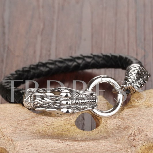 Dragon Head Men's Bracelet
