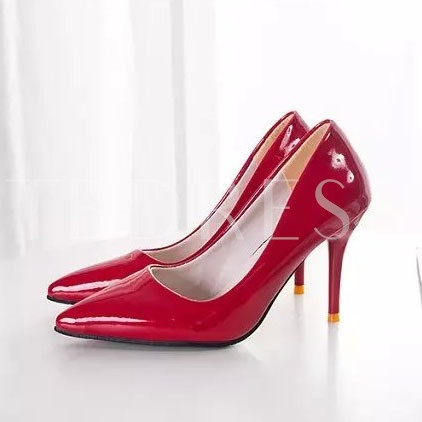 Candy Color Slip-on Pointed Cheap Women's Formal Heels