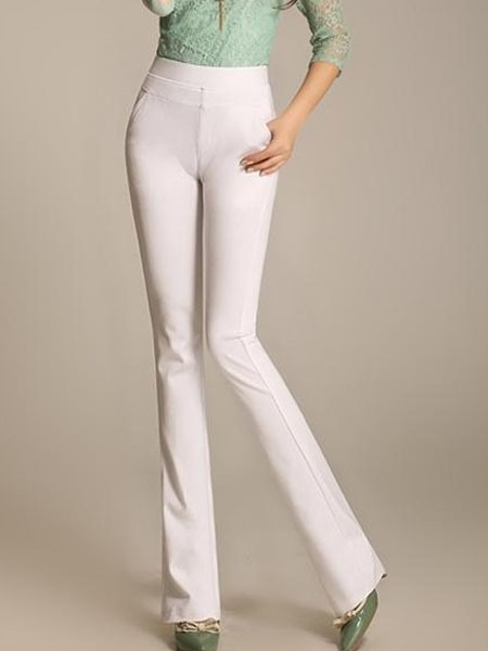 High Waist Palazzo OL Women's Pants