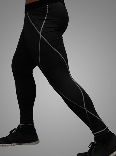 Quick-dry Men's Compression Leggings