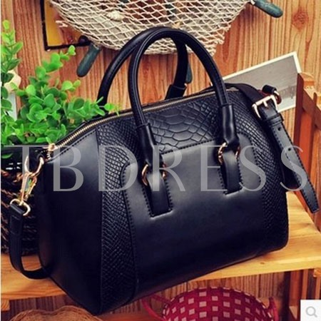 Black Hobo PU Women Shoulder/Tote Bag