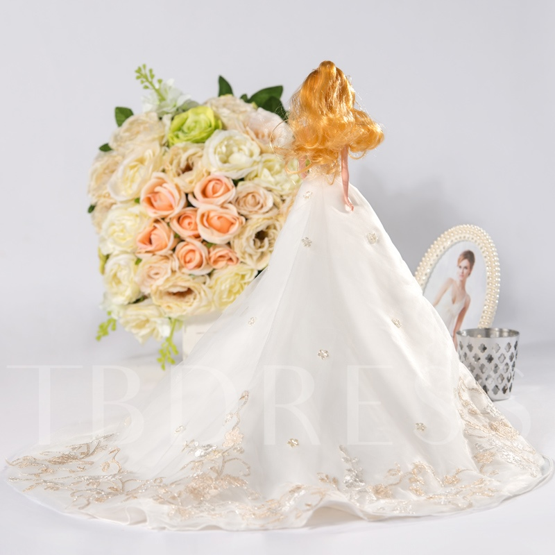 Adorable Wedding Barbie Doll Toy Gift
