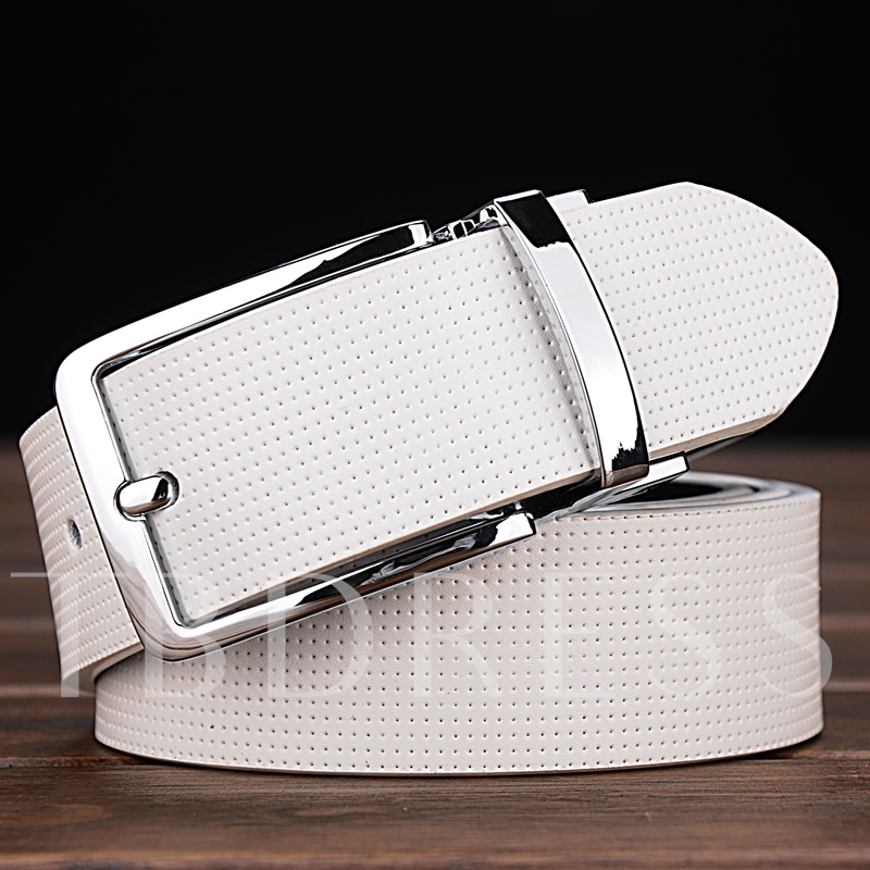 Double-Sided Artificial Leather Belt
