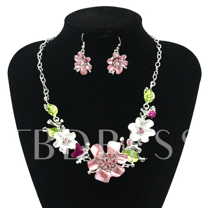 Dress Party Necklace Jewelry Set