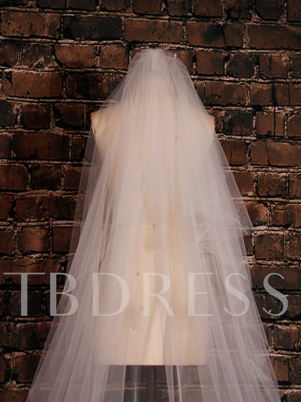 High Cost Performance Tulle Wedding Cathedral Veil