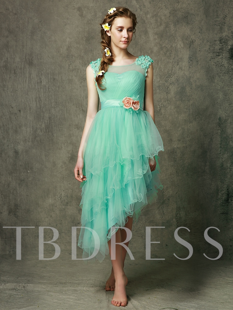 Tiered Bridesmaid Dress