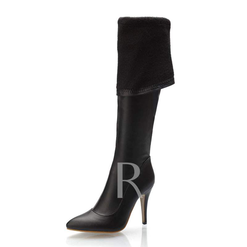 Pointed Toe Stiletto Heel Slip-On Women's Otk Boots