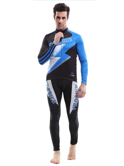Flash Drying Sweat-Absorption Men's Biking Suit