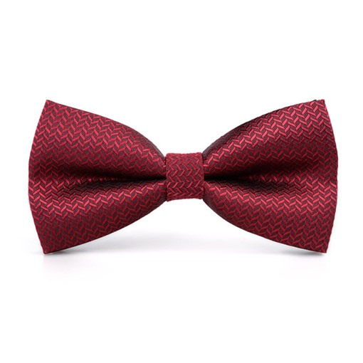 Men Red Bow Tie