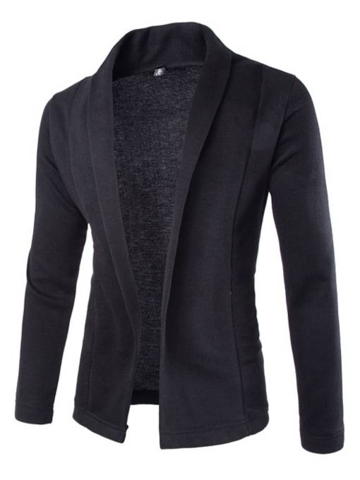 Shawl Collar Men's Blazer with no Button