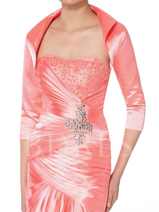 Strapless Beaded Mother of the Bride Dress with Jacket