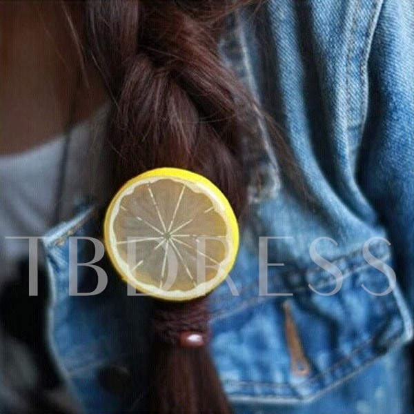 Colorful Fruits Slice Hair Rope